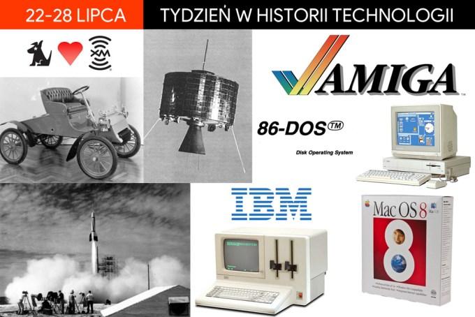22-28 lipca: Tydzień w historii technologii