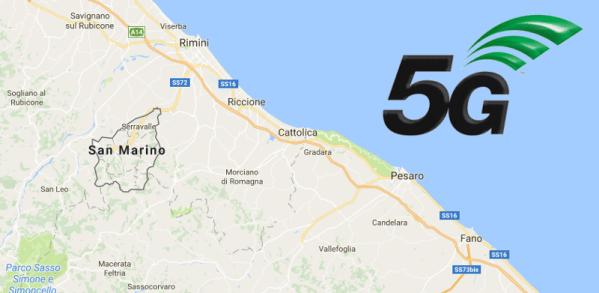 San Marino z pierwszą europejską siecią komórkową 5G w 2018 r.?