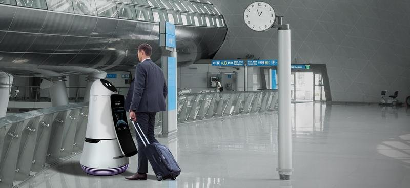 Airport Guide Robot
