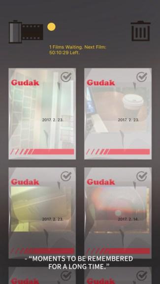 Screen z aplikacji Gudak