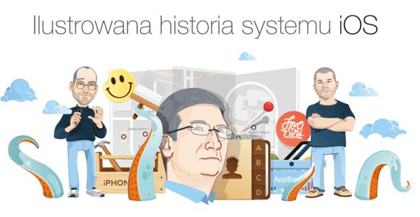 Ilustrowana historia mobilnego systemu iOS