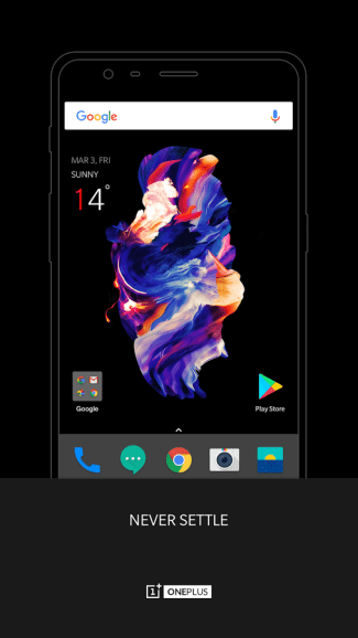 OnePlus Launcher (screen)