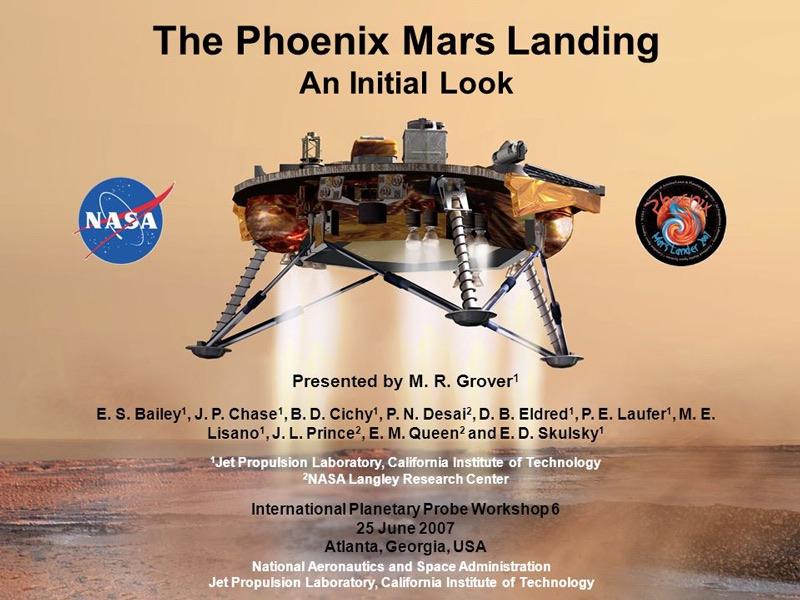Phoenix Marx (NASA, 2007)