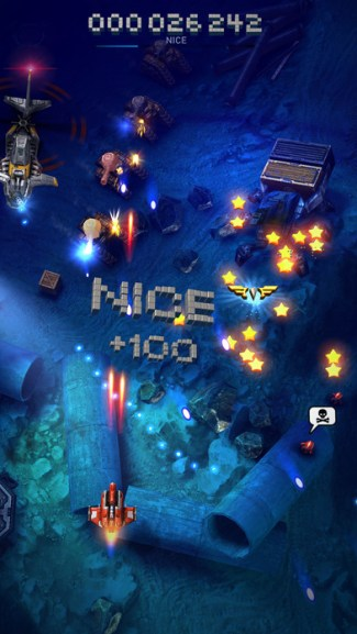 Sky Force Reloaded (iOS screen)