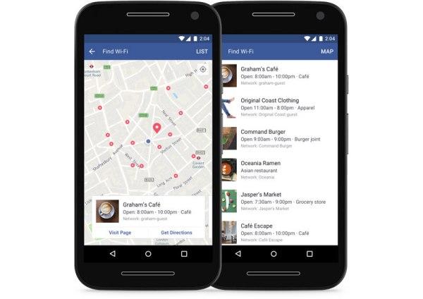"""""""Znajdź sieć Wi-Fi"""" to nowa funkcja w mobilnym Facebooku"""