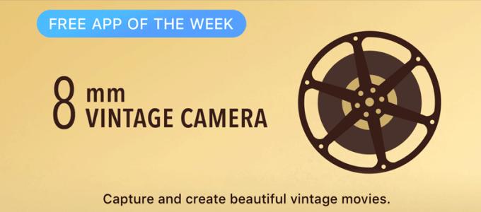 8mm Vintage Camera - Free App of the Week