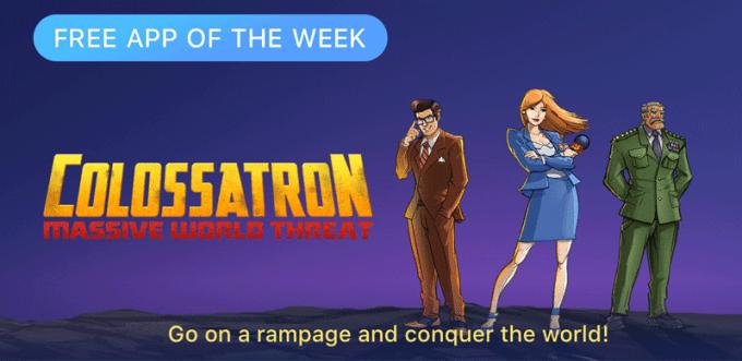 Clolossatron od Halfbrick - Free App of the Week (App Store)
