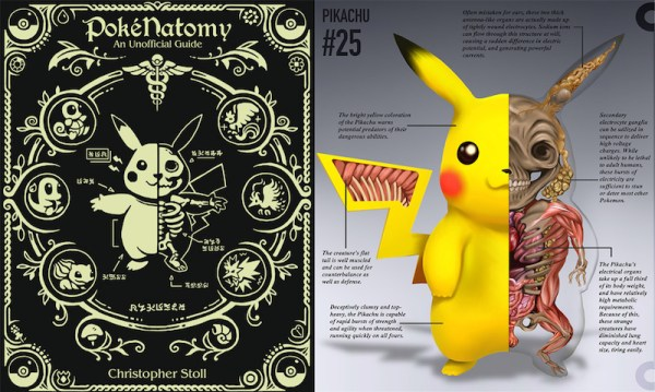 PokéNatomy – poznaj anatomię Pokemonów