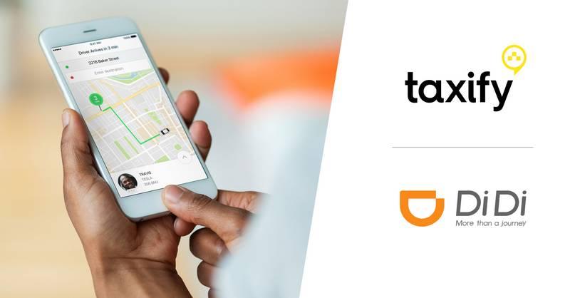 Taxify DiDi App
