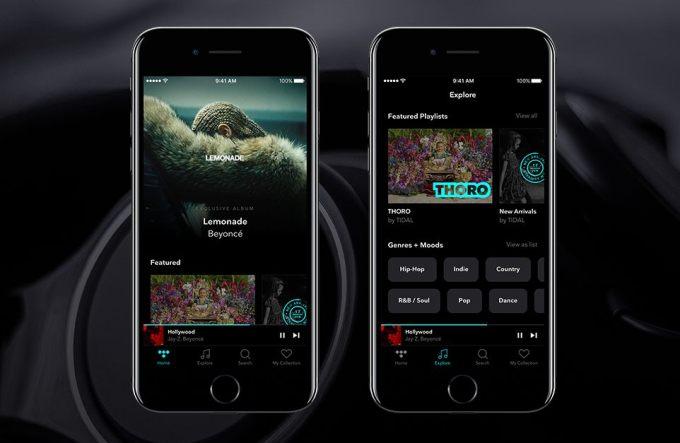 Nowy wygląd aplikacji mobilnej TIDAL