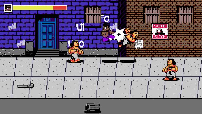 Screen z retro gry z kolekcji UFO 50