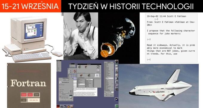15-21 września - tydzień w historii technologii