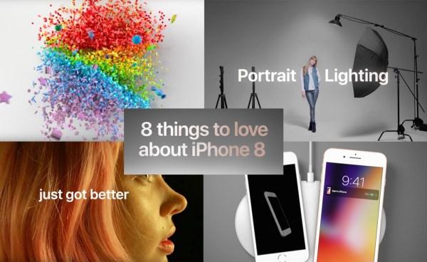 8 rzeczy, za które uwielbiamy iPhone'a 8 [wideo]