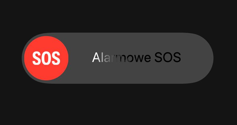 Funkcja Alarmowe SOS w iPhonie z systemem iOS 11