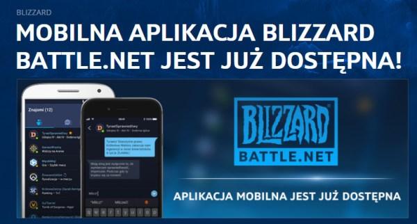 Aplikacja mobilna Blizzard Battle.net na iOS-a i Androida