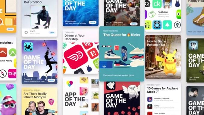 Nowy App Store pod systemem iOS 11