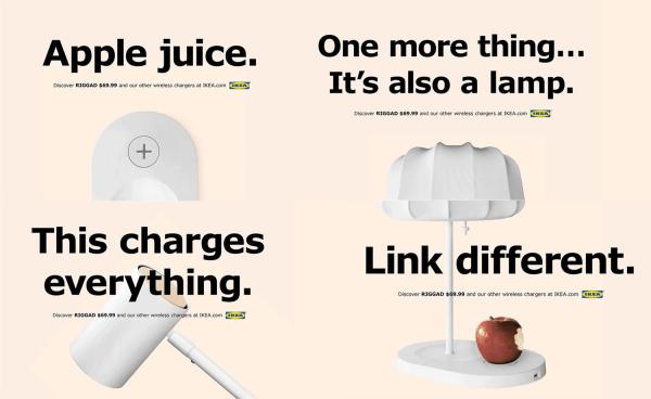 Ikea używa znanych sloganów Apple'a w najnowszej kampanii
