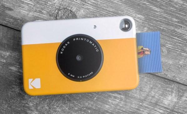 Kodak Printomatic – aparat hybrydowy, z funkcją wywoływania