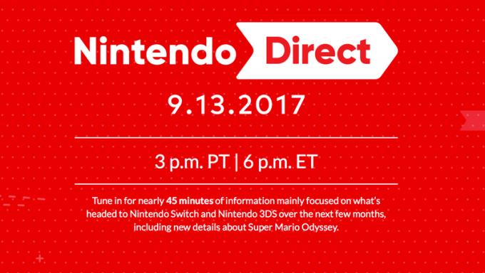 Nintendo Direct 13 września 2017 r.