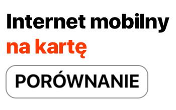 Jaki wybrać internet mobilny na kartę?