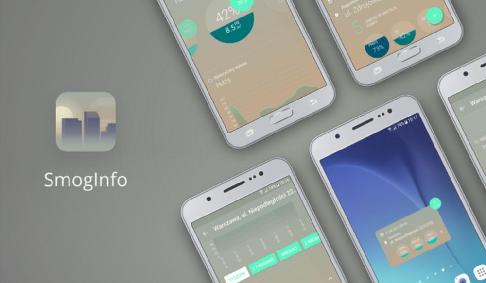 Aplikacja mobilna Smog Info
