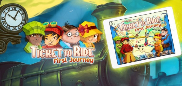 "Gra ""Ticket to Ride: First Journey"" dostępna na iOS-a i Androida"