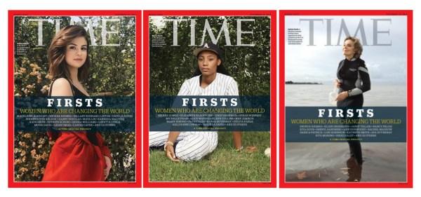 """Okładki serii """"Firsts"""" magazynu TIME zrobione iPhone'em"""