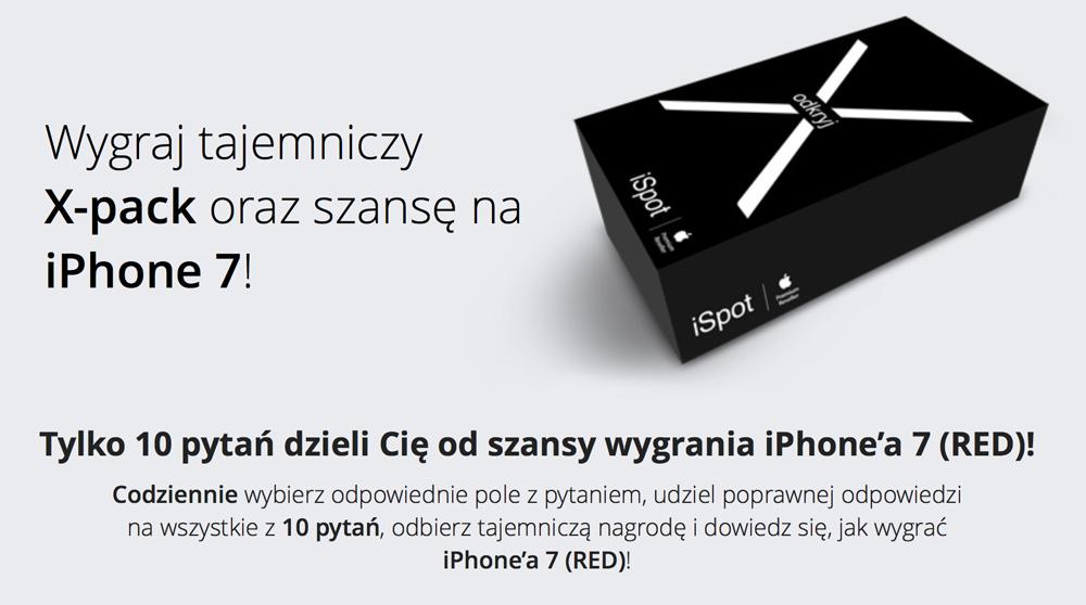 tajemniczy X-Pack iSpot - konkurs