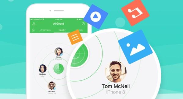 AirDroid dostępny na urządzenia z iOS-em