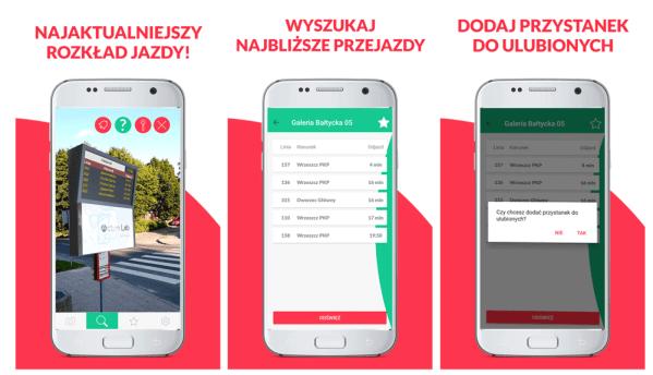 ARbus – mobilny rozkład jazdy oparty o rozszerzoną rzeczywistość