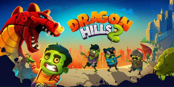 Gra mobilna Dragon Hills 2 od Rebel Twins