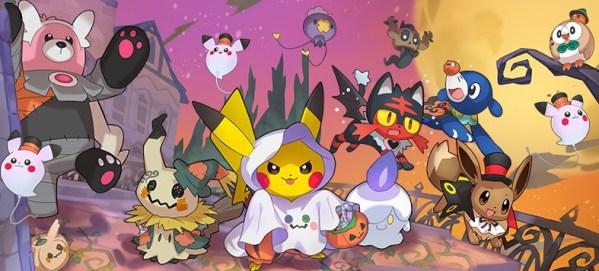 Więcej upiornych stworków w Pokémon GO z okazji Halloween