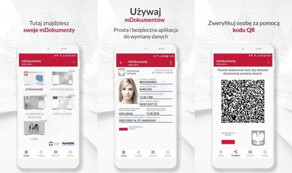 Aplikacja mObywatel dostępna do pobrania na Androida