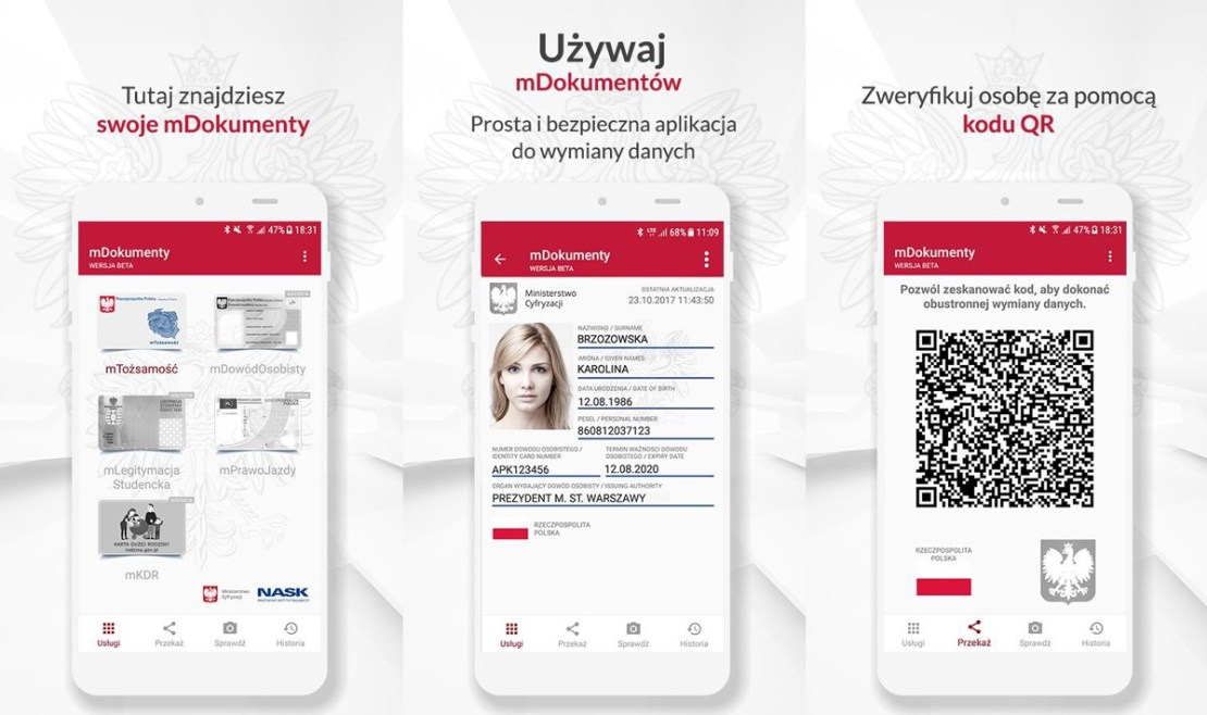 mObywatel – Twoje mDokumenty w smartfonie (Ministerstwo Cyfryzacji)