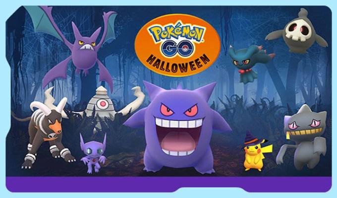 Specjalne Pokemony z okazji Halloween 2017