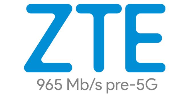 Rekord transferu danych w komercyjnej sieci pre-5G (965 Mb/s) ZTE w Japonii