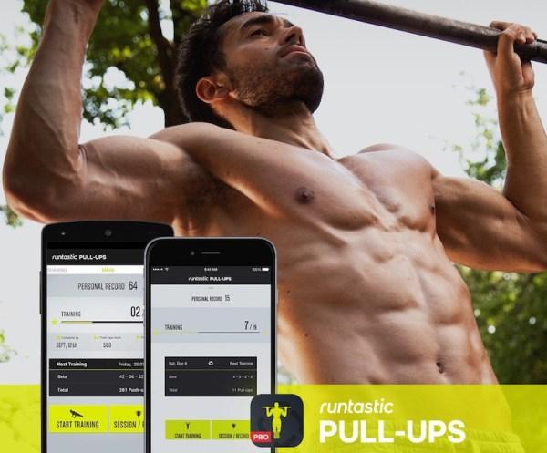 Runtastic Pull-Ups Workouts PRO za darmo na iOS-a i Androida
