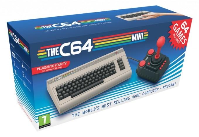 Pudełko THEC64 Mini