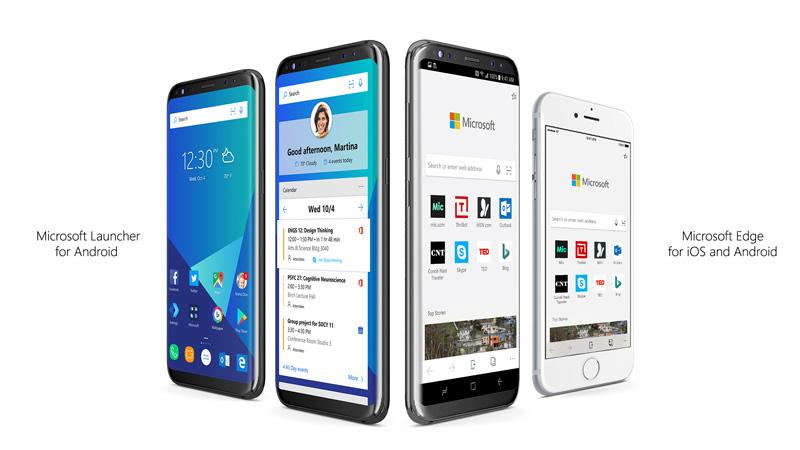 Przeglądarka internetowa Microsoft Edge na iOS-a i Androida