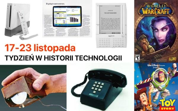 [17-23 listopada] Tydzień w historii technologii