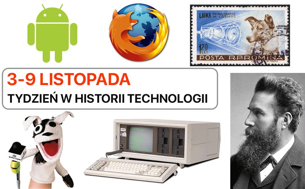 3-9 listopada: Tydzień w historii technologii