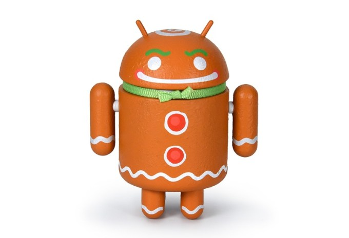 Ginger Gene - figurka świąteczna Androida