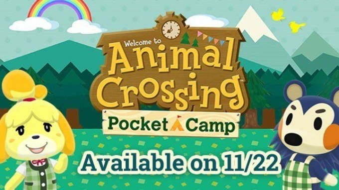 Animal Crossing Pocket Camp - premiera 22 listopada 2017 r.