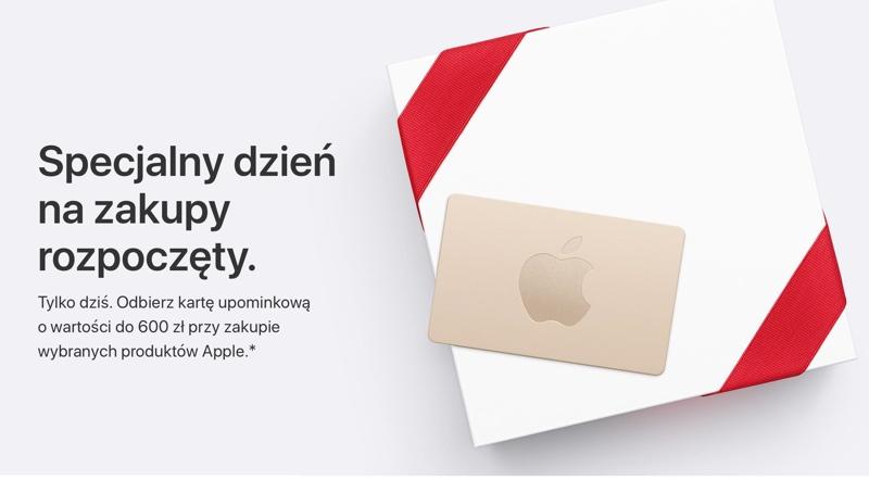 Apple Dodaje Dzisiaj Do Zakupow Karty Upominkowe Do 600 Zl Mobirank Pl