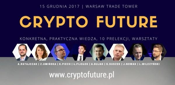 Zapraszamy na Crypto Future Conference 2017