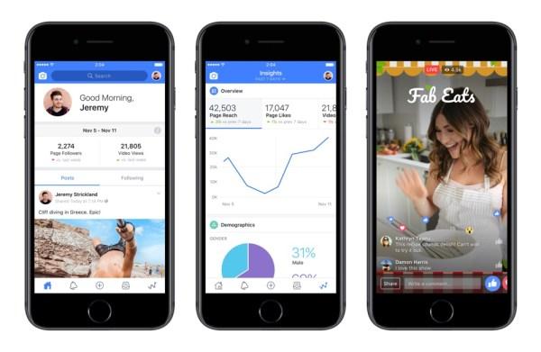 Facebook Creator – nowa appka dla tworzących wideo