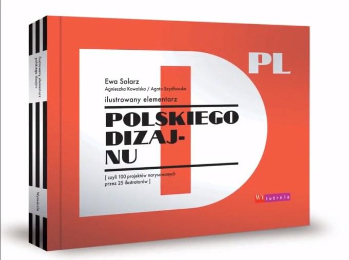 Okładka książki: Ilustrowany elementarz polskiego dizajnu