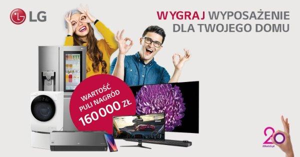 LG zorganizowało loterię z okazji 20-lecia w Polsce