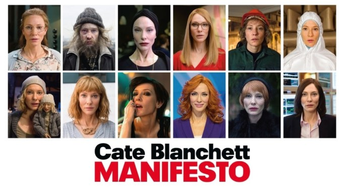 "Wcielenia Cate Blanchett w filmie ""Manifesto"" (reż. Julian Rosefeldt)"