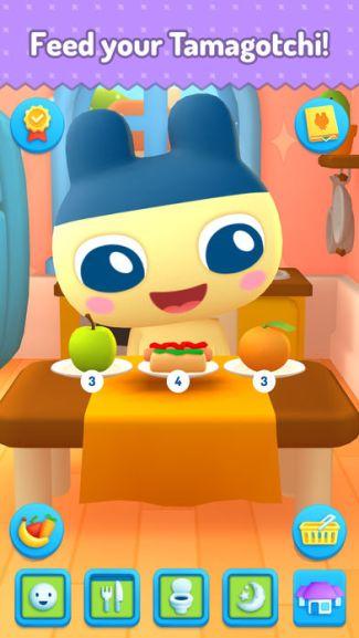 My Tamagotchi Forever - screen z aplikacji